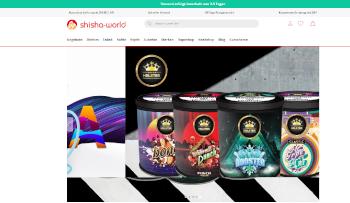 Online einkaufen bei Shisha World