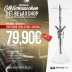 Relaxshop - Poseidon Edelstahl Shisha