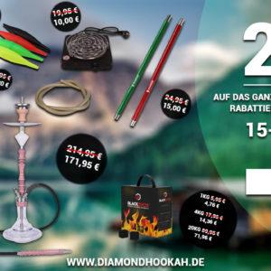 Diamond Hookah Angebote und Gutscheincode