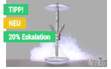 20% Eskalation Shisha-cloud Rabatt