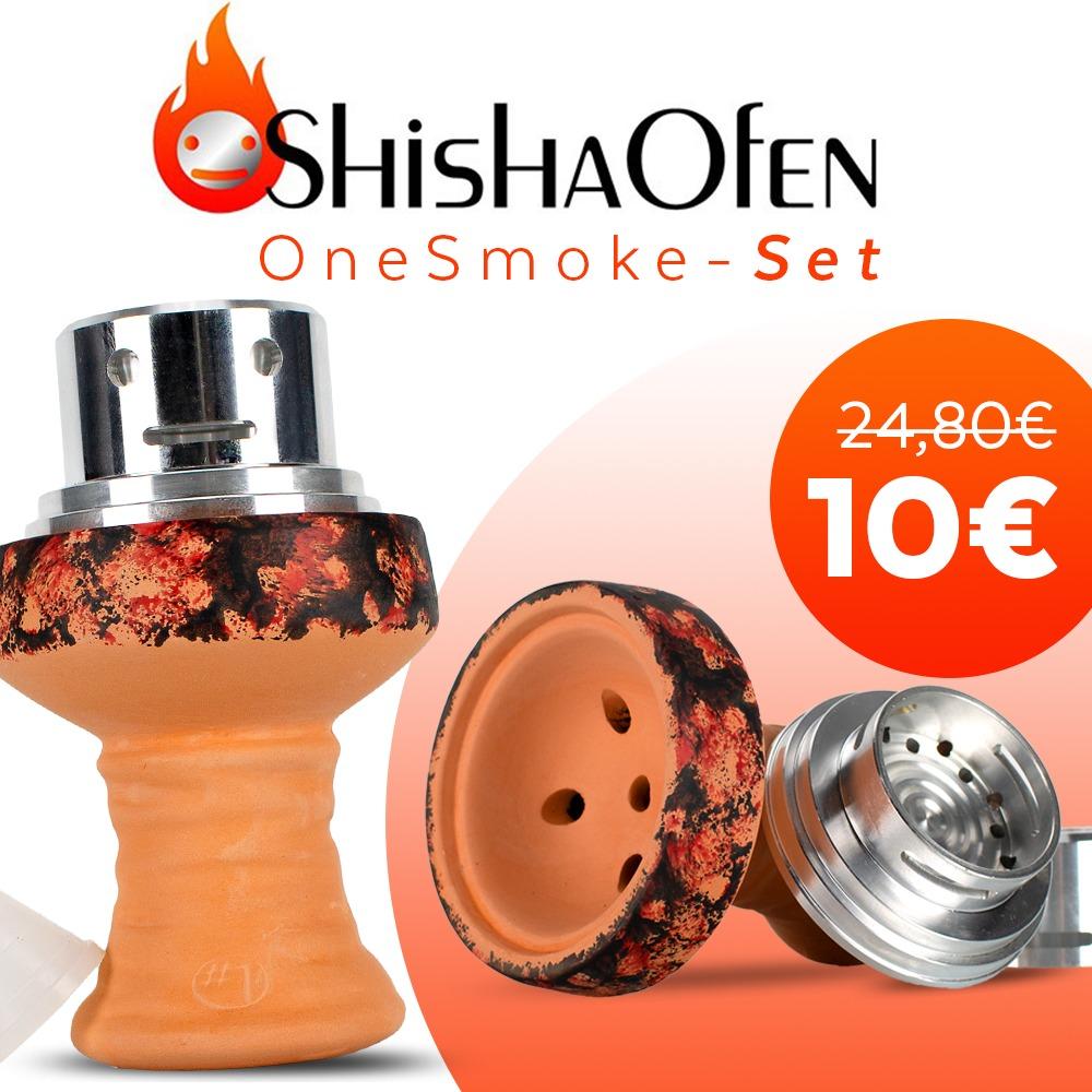 10,00 EUR Shishaofen Onesmoke set Angebot